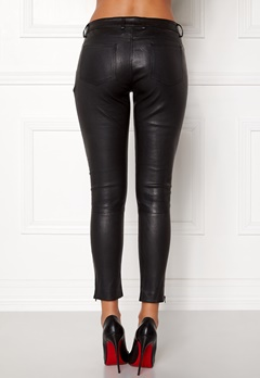 ROCKANDBLUE The Leather Pants Black Bubbleroom.fi