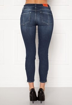 the Odenim O-Swee Jeans 09 DK Midblue Bubbleroom.fi