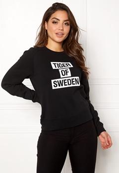 TIGER OF SWEDEN Eriika Sweat Black Bubbleroom.fi