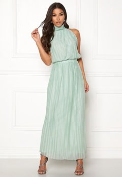 VILA Tippy S/L Maxi Dress Blue Haze Bubbleroom.fi