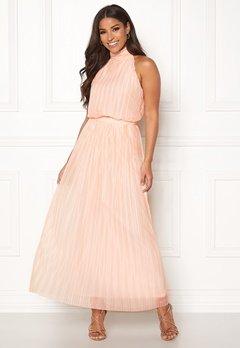 VILA Tippy S/L Maxi Dress Silver Peony Bubbleroom.fi