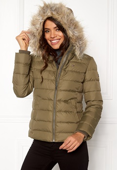TOMMY JEANS Basic Down Jacket Crocodile Bubbleroom.fi