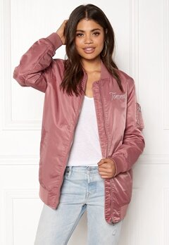 TOMMY JEANS THDW Nylon Bomber Withered Rose Bubbleroom.fi