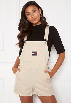 TOMMY JEANS Dungaree Shorts Sugarcane Bubbleroom.fi