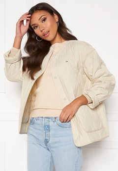 TOMMY JEANS Quilted Liner Jacket Sugercane Bubbleroom.fi