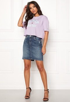 TOMMY JEANS Regular Denim Skirt 911 Cali Mid BL Com Bubbleroom.fi