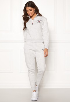 TOMMY JEANS Tommy Sweatpant PPP Pale Grey HTR Bubbleroom.fi
