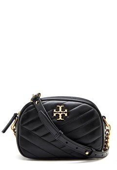 TORY BURCH Kira Chevron Camera Bag Black Bubbleroom.fi