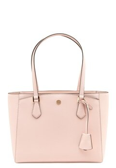 TORY BURCH Robinson Small Tote Shell pink Bubbleroom.fi