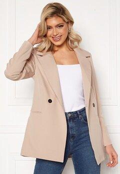 Trendyol Buttoned Blazer Jacket Tas/Stone Bubbleroom.fi