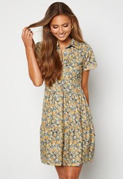 Trendyol Fanny S/S Short Dress Tas/Stone Bubbleroom.fi
