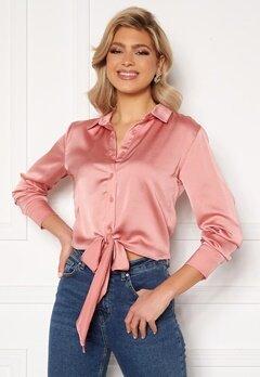Trendyol Rose Tie Shirt Gul Kurusu/Rose bubbleroom.fi