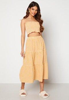 Trendyol Smock Top Skirt Set Sari/Yellow Bubbleroom.fi