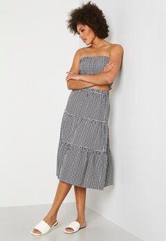 Trendyol Smock Top Skirt Set Siyah/Black Bubbleroom.fi