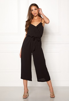 OBJECT Tribbiani S/L Jumpsuit Black Bubbleroom.fi