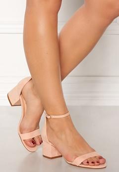 Truffle Hallie Block Heel Sandals Nude Bubbleroom.fi