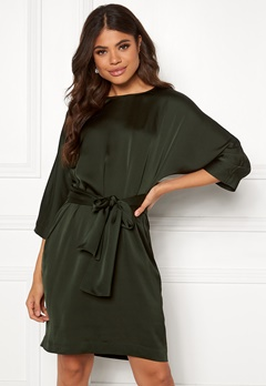 Twist & Tango Angelica Dress Deep Khaki Bubbleroom.fi