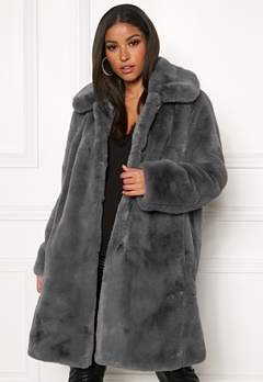 Twist & Tango Birgit Faux Fur Coat Dove Bubbleroom.fi