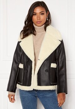 Twist & Tango Daisy Shearling Jacket Black Bubbleroom.fi