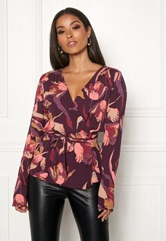 Twist & Tango Isabel Blouse Purple Tulip Bubbleroom.fi