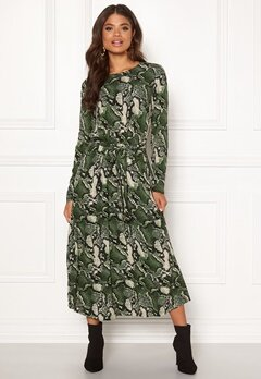 Twist & Tango Isabel Dress Green Snake Bubbleroom.fi