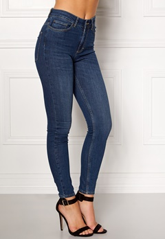 Twist & Tango Julie High Waist Jeans Dark Blue Bubbleroom.fi
