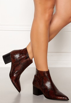 Twist & Tango Lisbon Boots Dark Brown Snake Bubbleroom.fi