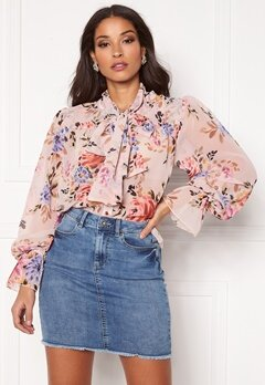 Twist & Tango Liv Blouse Pink Flower Bubbleroom.fi