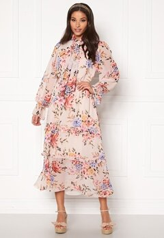 Twist & Tango Liv Dress Pink Flower Bubbleroom.fi