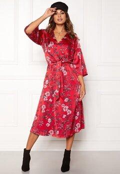 Twist & Tango Maxine Dress Red Flower Bubbleroom.fi