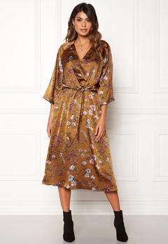 Twist & Tango Maxine Dress Rust Flower Bubbleroom.fi