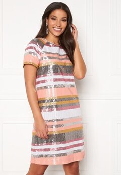 Twist & Tango Pernilla Sequin Dress Sequin Stripe Bubbleroom.fi