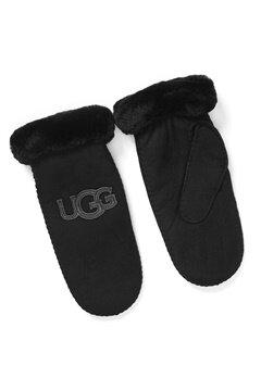 UGG Australia Logo Mitten Black Bubbleroom.fi
