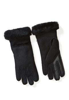 UGG Australia Seamed Tech Glove Black Bubbleroom.fi