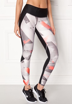 Under Armour Armour Fly Printed Tight Black Bubbleroom.fi