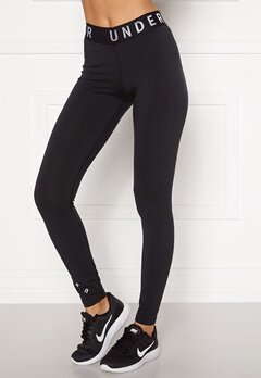 Under Armour Favorite Graphic Legging 001 Black Bubbleroom.fi