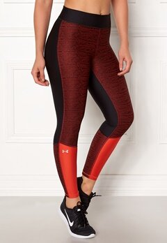 Under Armour Jac Ancle Crop Legging Black/Radio Red Bubbleroom.fi