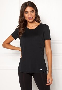 Under Armour Speed Stride Short Sleeve Black/Reflective Bubbleroom.fi