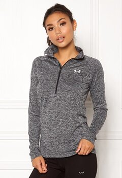 Under Armour Tech 1/2 Zip Black Bubbleroom.fi