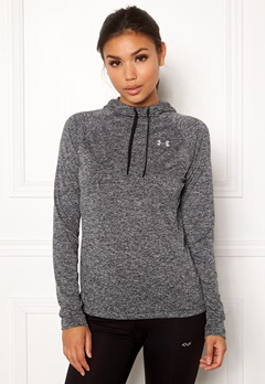 Under Armour Tech LS Hoody Black Bubbleroom.fi