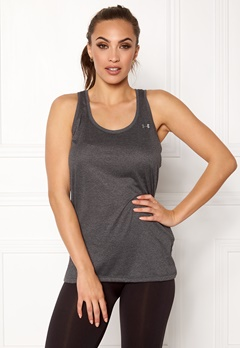 Under Armour Tech Tank Carbon Heather Bubbleroom.fi