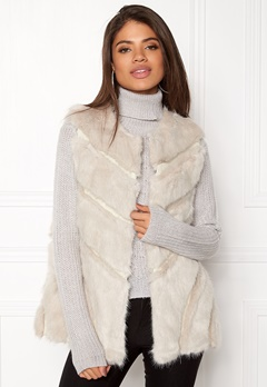 Urban Mist Faux Fur Panel Swing Creme Bubbleroom.fi