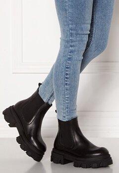 VAMSKO Molly Leather Boots Black Bubbleroom.fi
