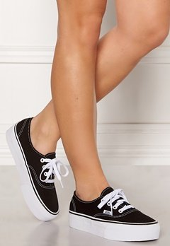 Vans Authentic Platform Black Bubbleroom.fi