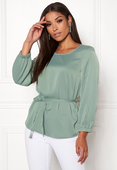 VERO MODA Ayla 7/8 Tie Top Green Bay Bubbleroom.fi