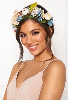 VERO MODA Bes Flower Hairband Snow White Bubbleroom.fi