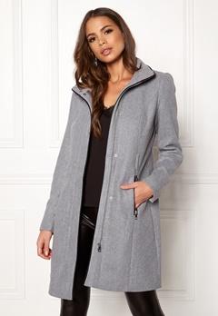 VERO MODA Bessy Class Wool Jacket Light Grey Melange Bubbleroom.fi