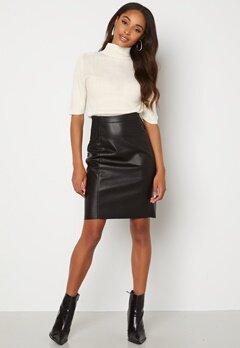 VERO MODA Buttersia Coated Skirt Black bubbleroom.fi