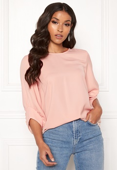 VERO MODA Carola 3/4 Top Misty Rose Bubbleroom.fi
