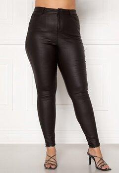 Vero Moda Curve Lora HW Coat Pants Black Bubbleroom.fi